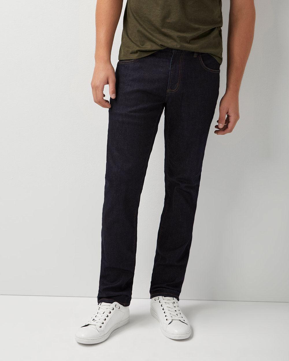 5dd0ca91e7e Straight leg Dark Wash Jeans
