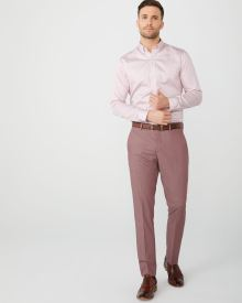 Slim Fit Pink suit pant