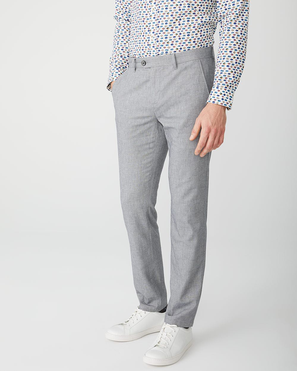 Slim Fit Chambray pant