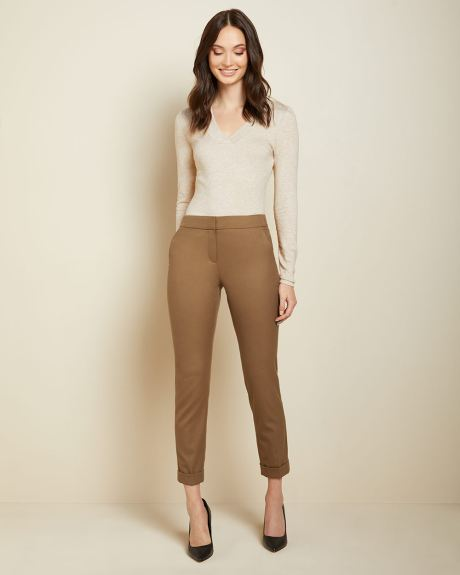 Flannel Signature fit Slim Leg Ankle Pant