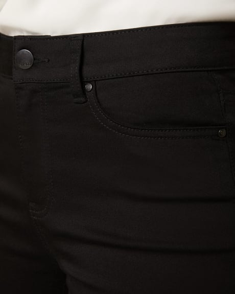Natalie High-waisted Black Jegging - 32''