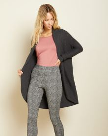C&G blurry herringbone City legging pant - 31.5''