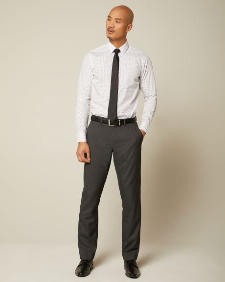 Tailored fit Dark heather grey City Pant