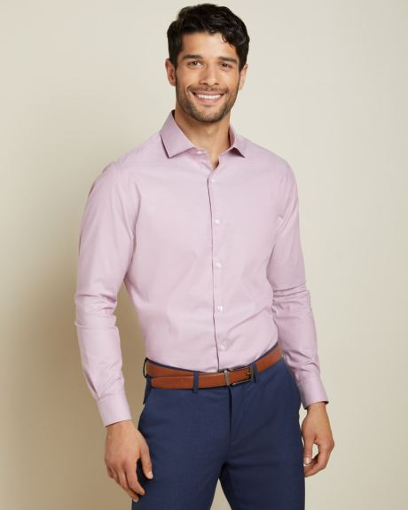 Athletic Fit dusty pink Dress Shirt