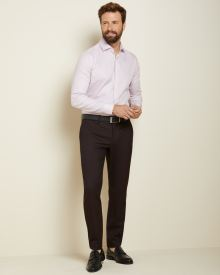 Slim fit Dark Burgundy City Pant