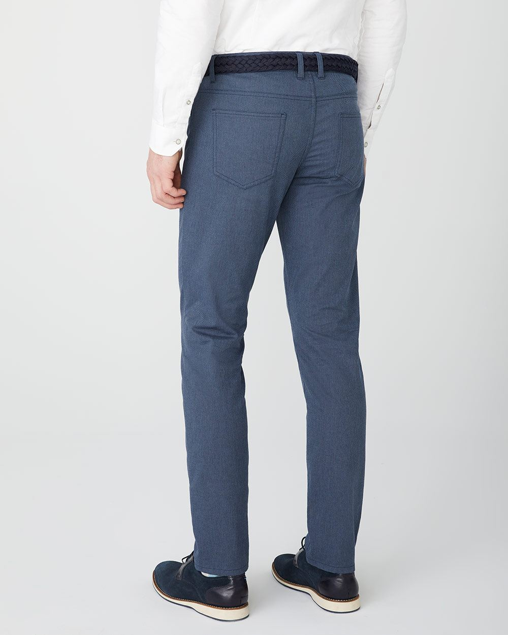 Slim fit Textured 5-pocket pant - 30''