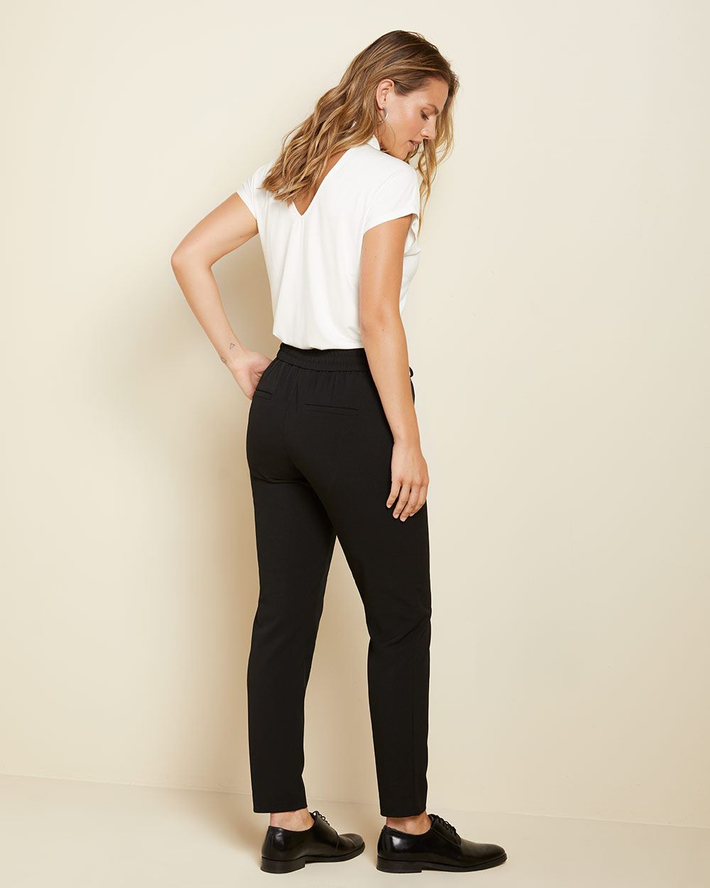 Stretch dressy Black jogger