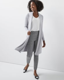 C&G Bamboo French Terry Duster Cardigan