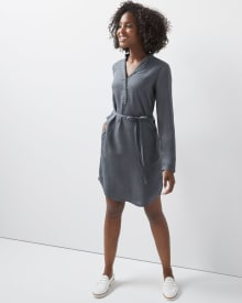 C&G Lyocell Shirtdress