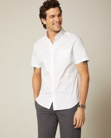 Essential Tailored fit short sleeve shirt