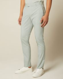 Slim Fit mint green suit pant