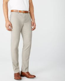 Slim fit beige City Pant - 30''