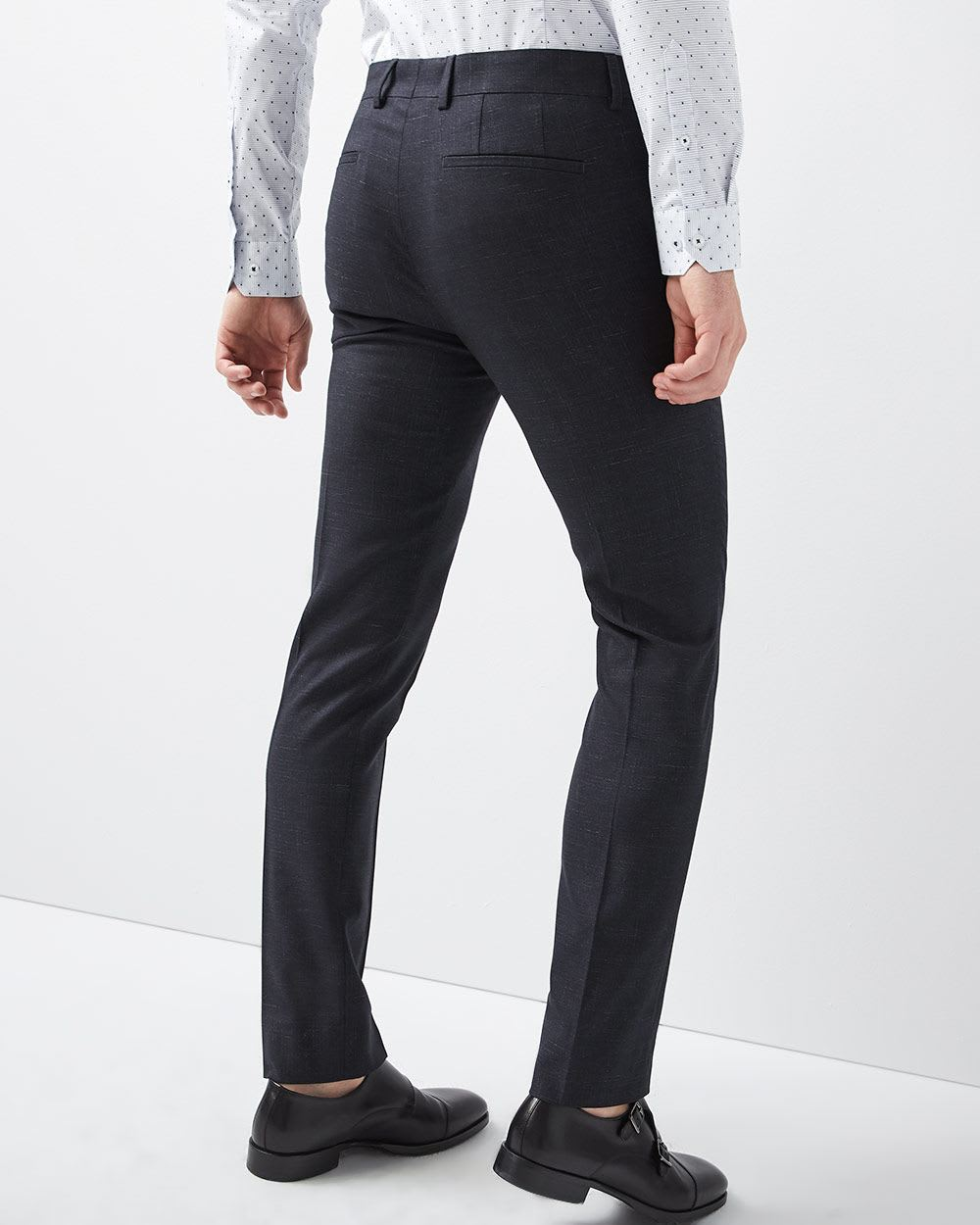 Slim Fit Slub Pant