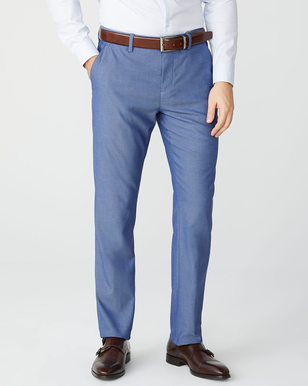 Tailored fit Light blue City Pant - 30''