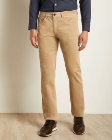 Slim Fit Brushed Moleskin 5-Pocket Pant