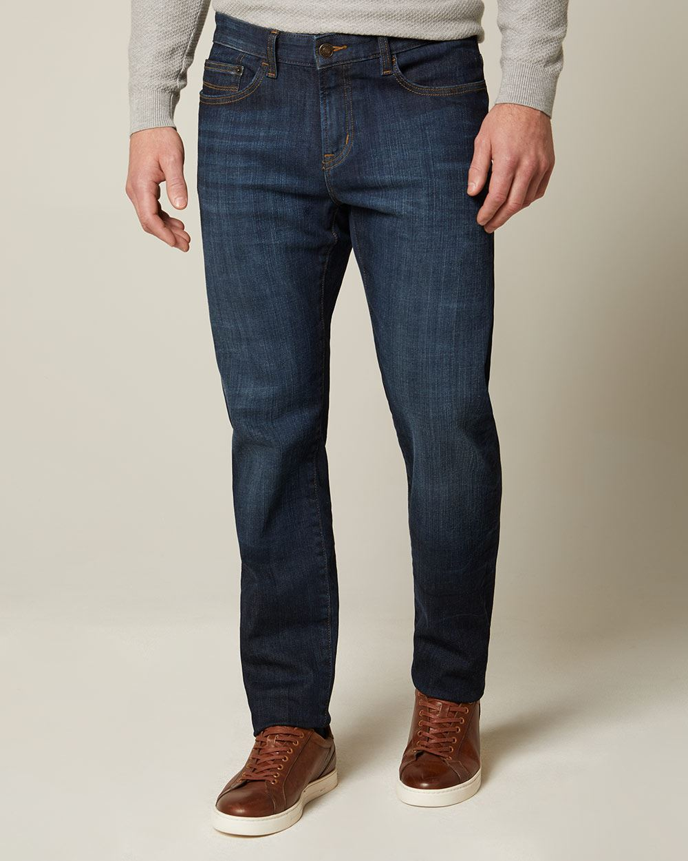 Athletic fit premium dark wash Jeans