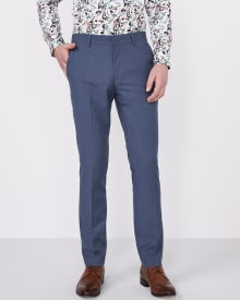 Slim Fit two-tone Pant