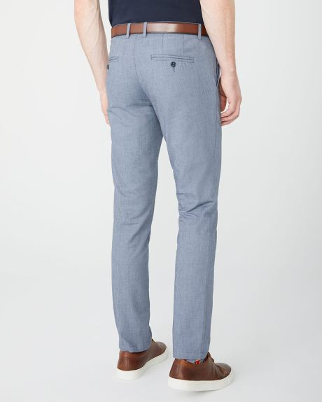 Slim Fit Chambray pant - 34''