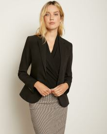 Short Black Blazer