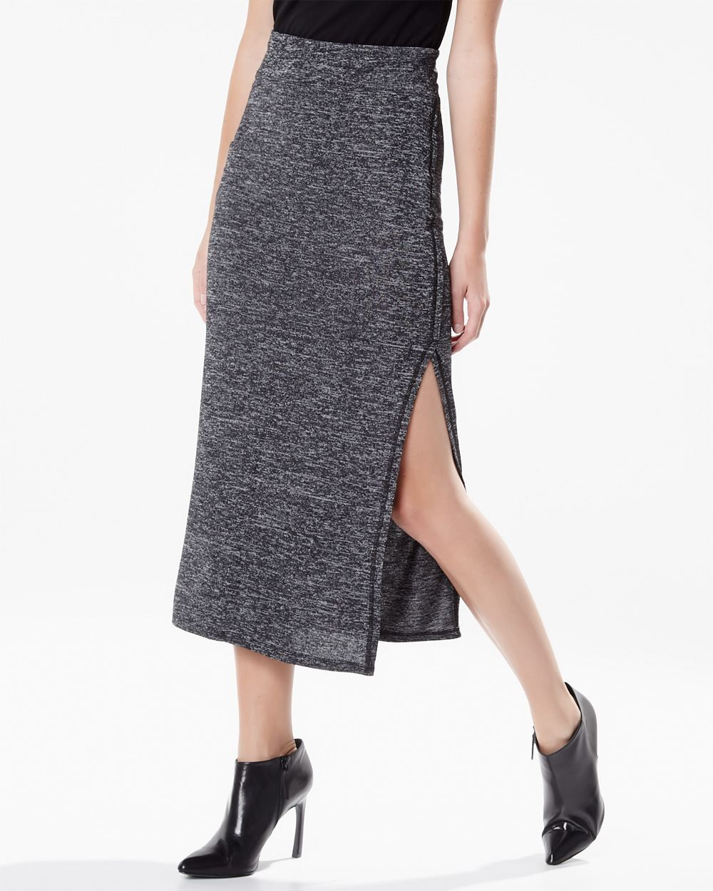 Long Knit Skirt - Skirts