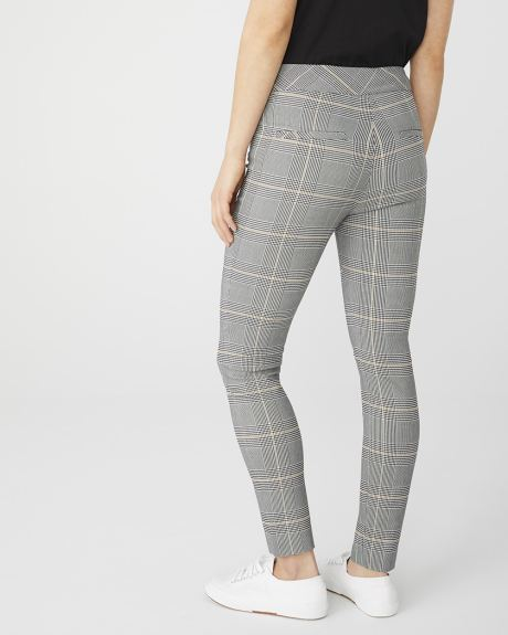 C&G Yellow plaid City legging - 28''