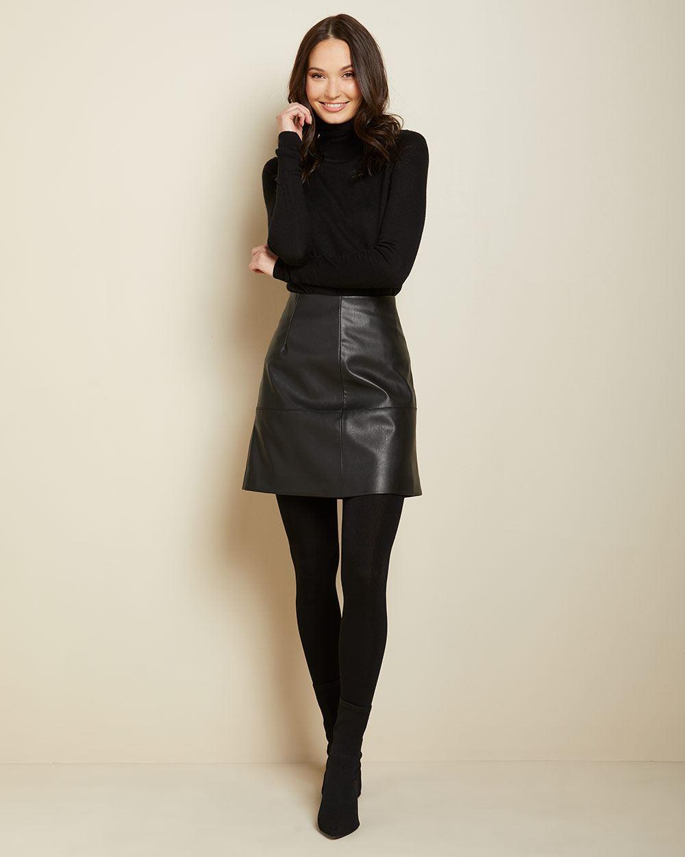 RW & Co. Black Fleece Tights