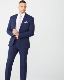 Athletic Fit E-Tech Navy suit Blazer