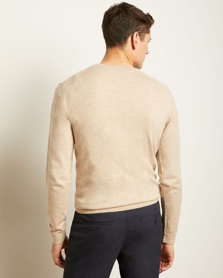 Lightweight Crew-Neck Sweater