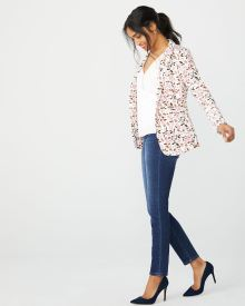 Fitted Floral blazer
