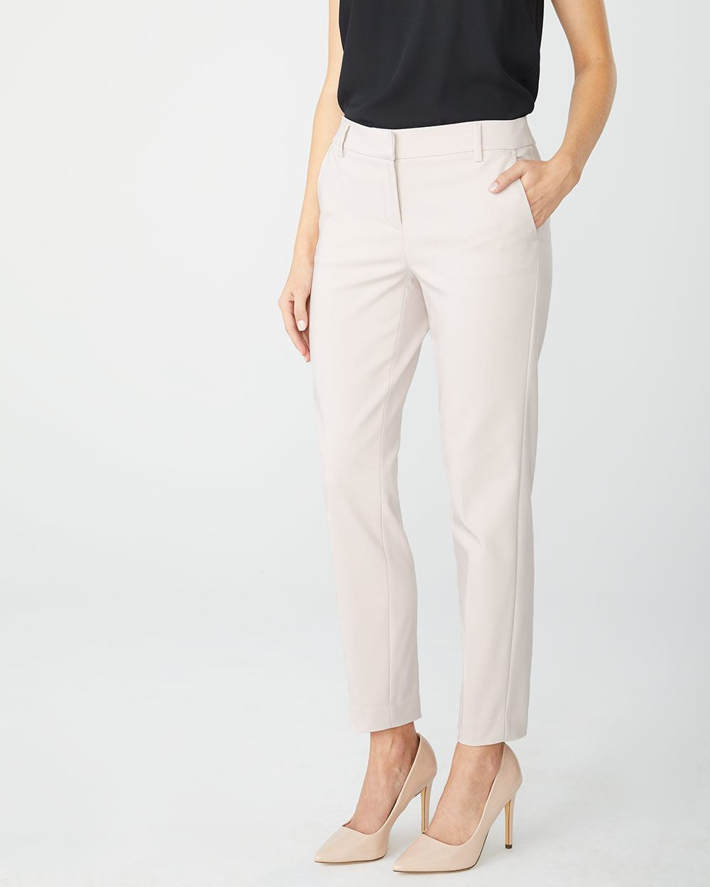 Modern chic Slim fit Slim Leg ankle pant