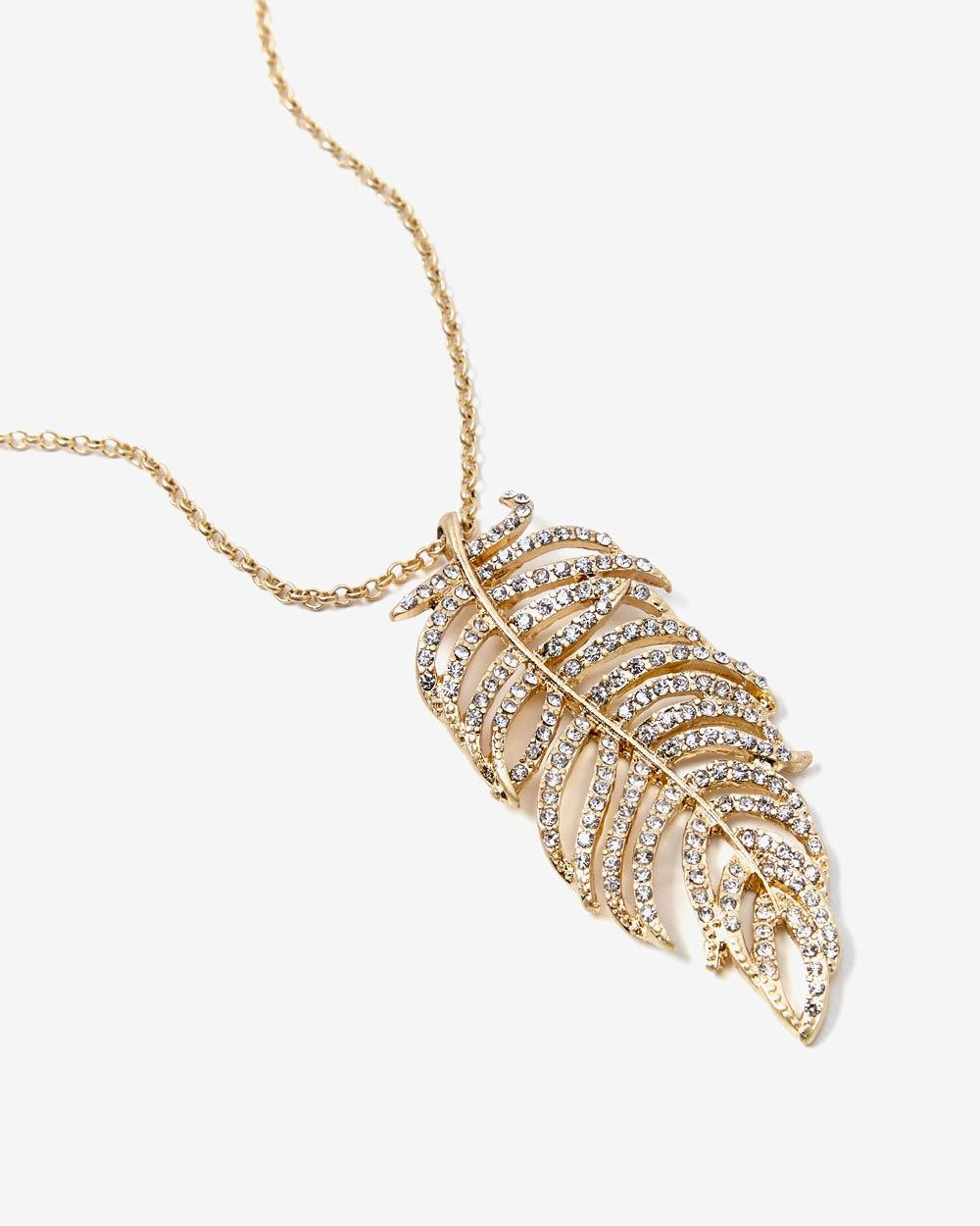 leaf necklace necklaces boutique pretty happiness pendant en