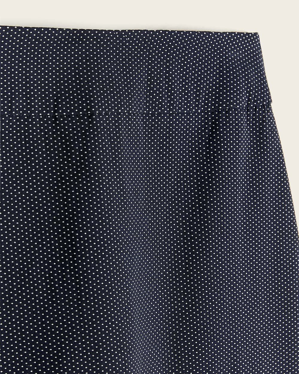 Micro Dots Pencil City Skirt