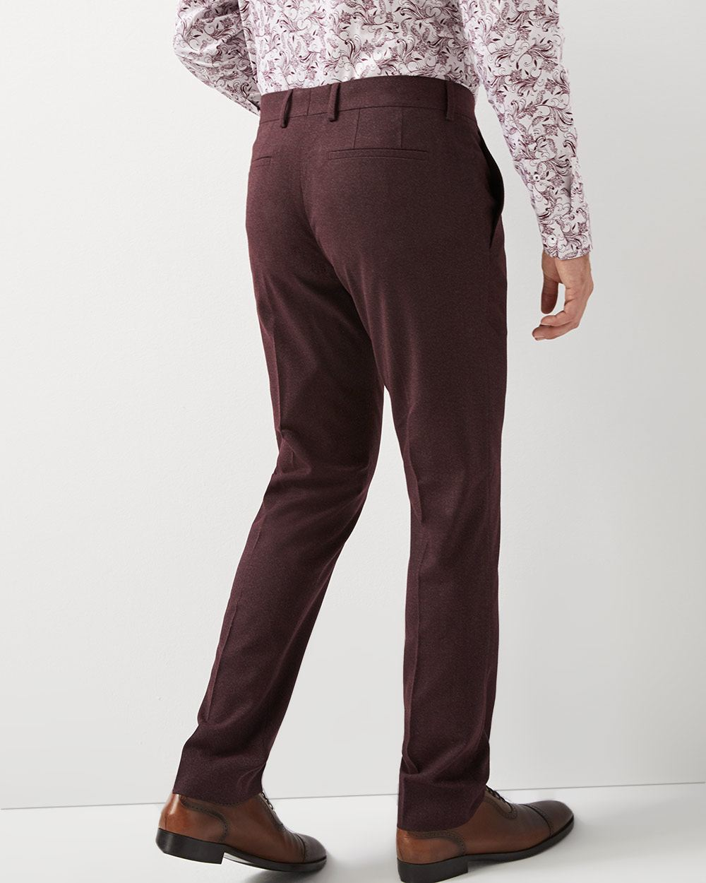 Slim fit twisted yarn 40-hour pant