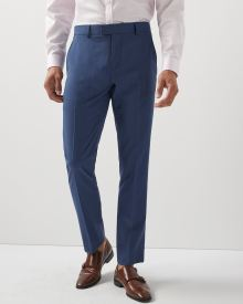 Tailored Fit blue Suit pant