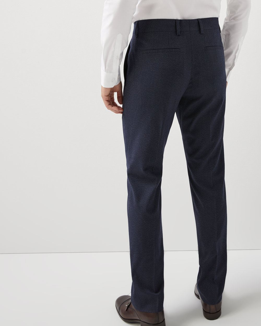 Tailored fit twisted yarn 40-hour pant