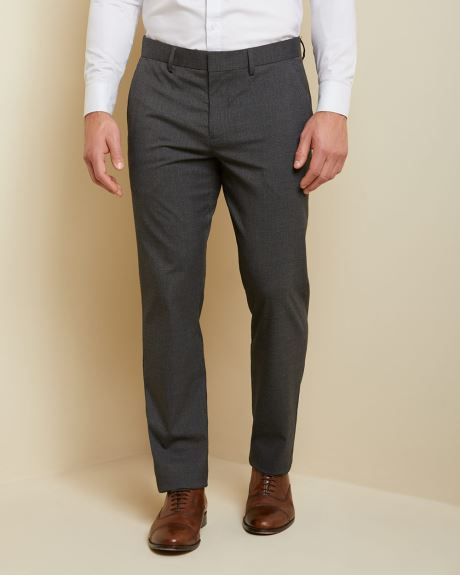 Tailored fit tonal glen check city pant