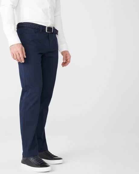 Straight fit 5-pocket pant - 34''