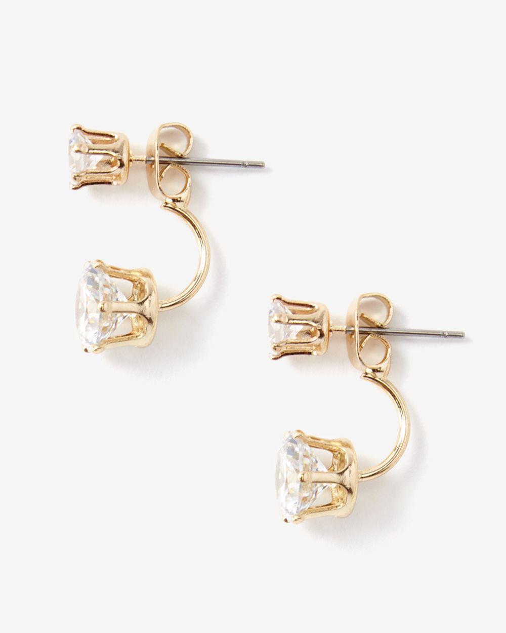 Frontback Crystal Earrings