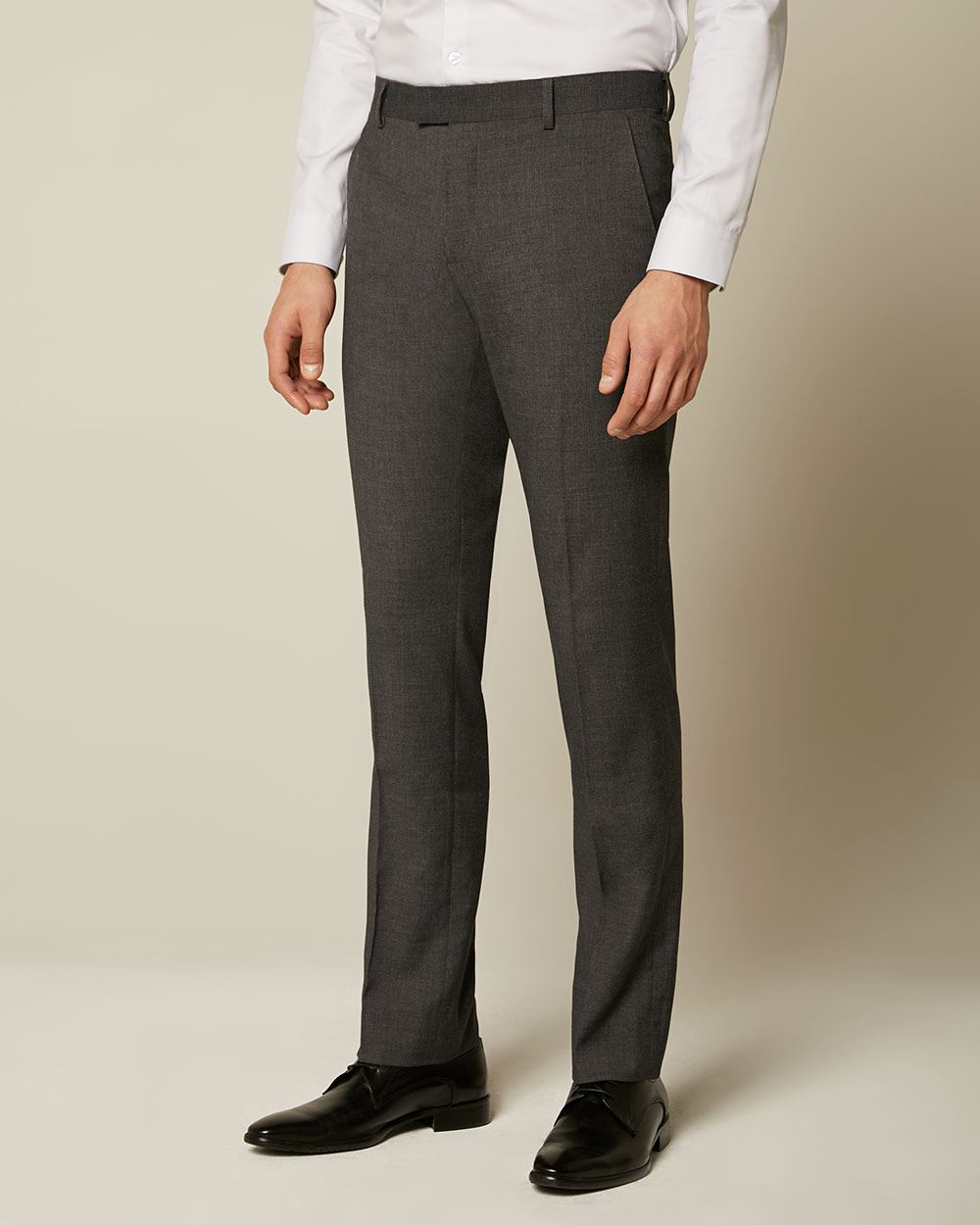 Essential Tailored Fit Dark Grey suit Pant - Tall