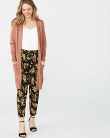 Long Open-front Lightweight cardigan