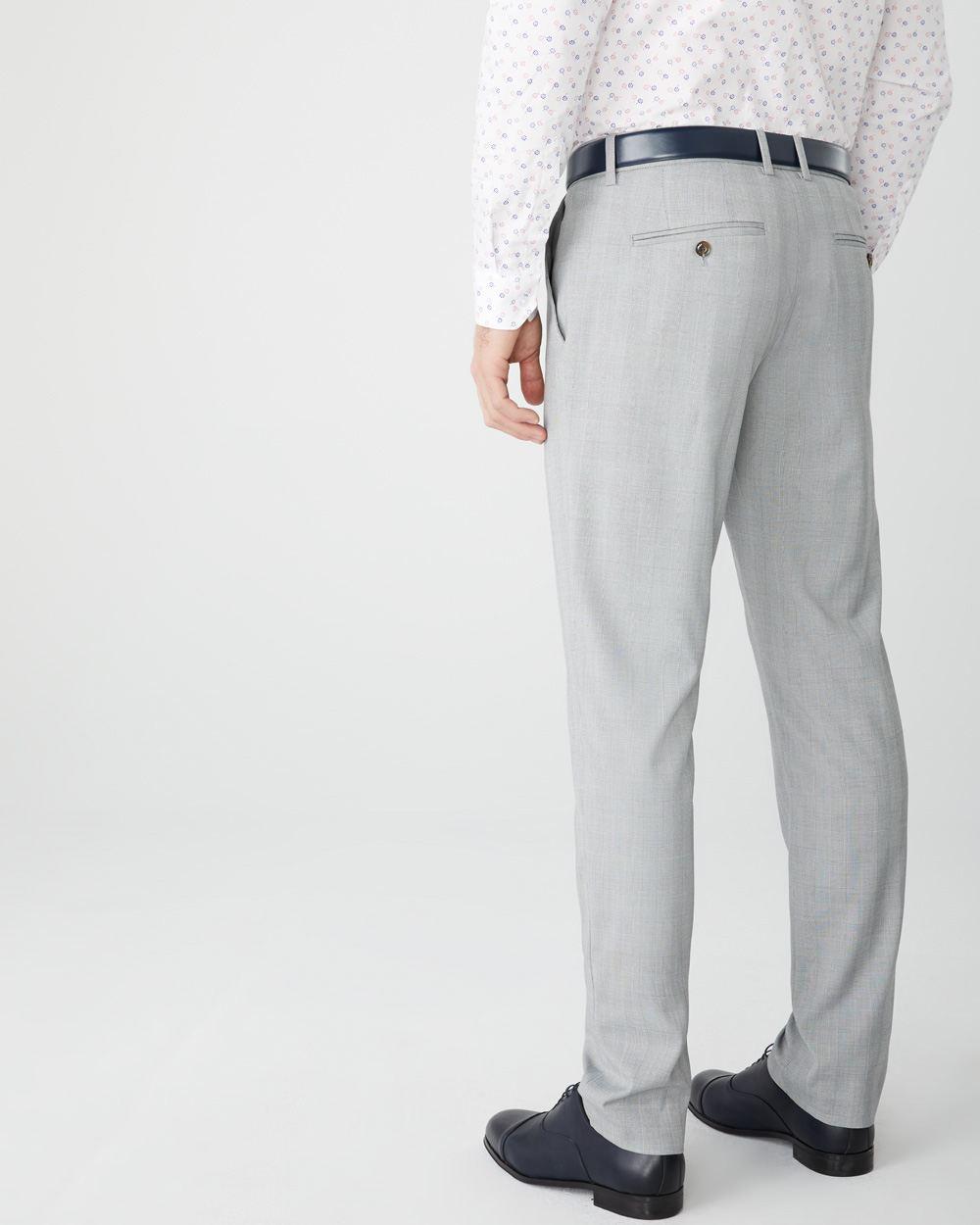 Carreaux À Coupe Pantalon Prince Galles De Ajustée v0ymNnwO8P