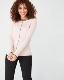Ballerina neck sweater