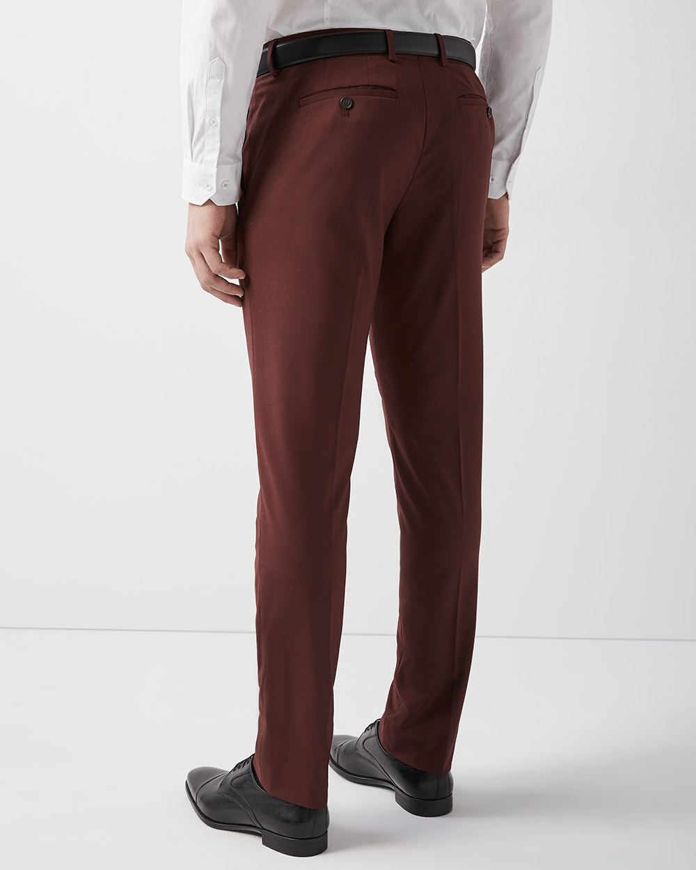 Slim Fit Deep Red Pant