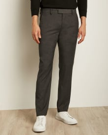 Essential Slim Fit Dark Grey suit Pant