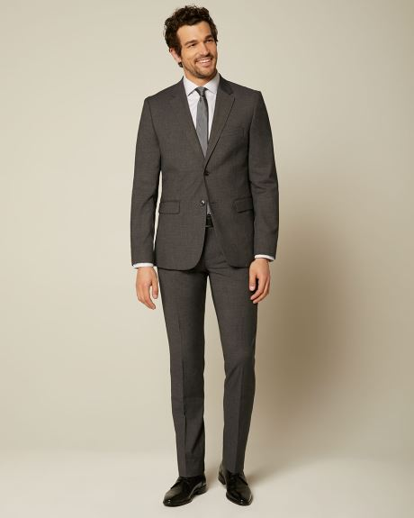 Essential Tailored Fit Dark Grey suit Blazer