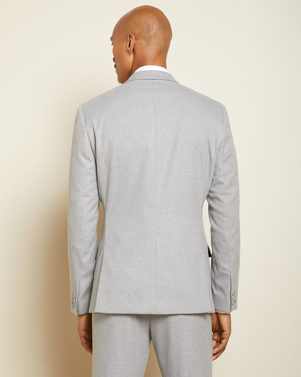 Tailored fit twisted yarn 40-hour suit blazer