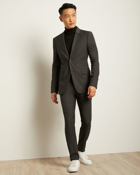Essential Slim Fit Dark Grey Blazer