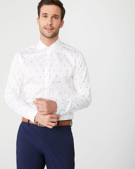 Slim Fit seahorse dress shirt