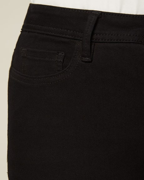 High-waisted extreme 360 stretch black skinny jeans - 30''