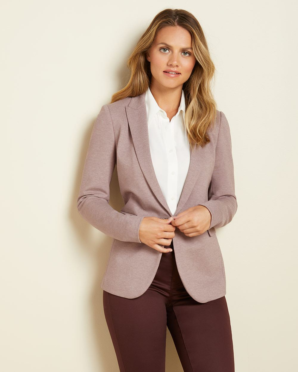 Long Fitted stretch blazer